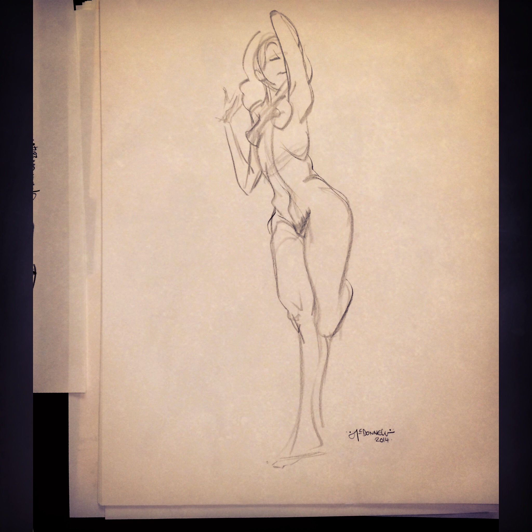 A 3 Minute Figure Drawing Sketch Disney Cre8tive Marks University